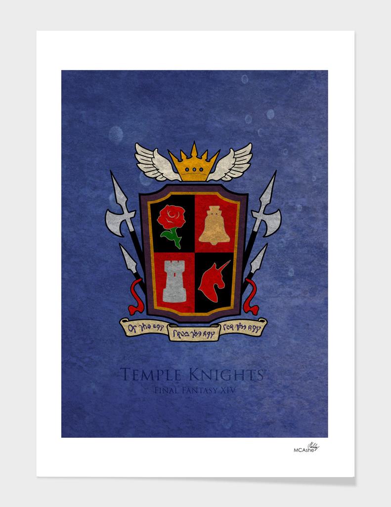 Ishgard Flag - Temple knights ( FFXIV)