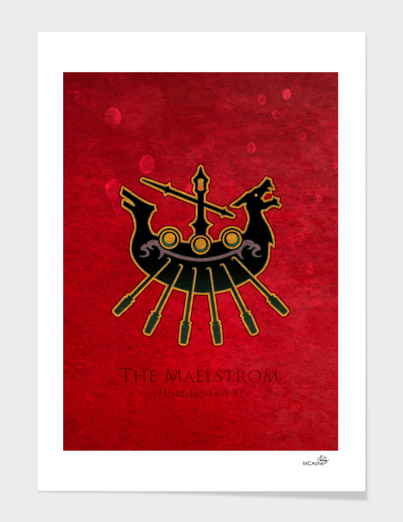 Limsa Lominsa Flag - The Maelstrom ( FFXIV)