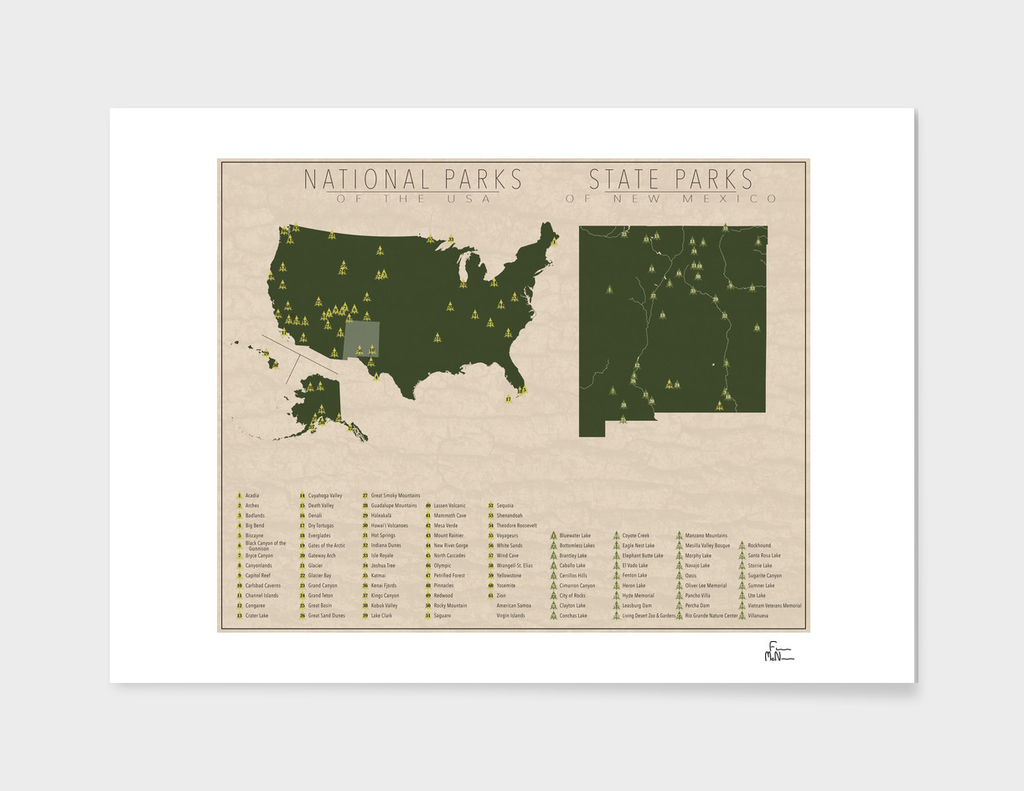 US National Parks - New Mexico