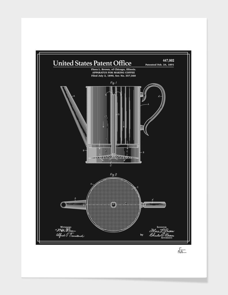 Coffee Press Patent - Black