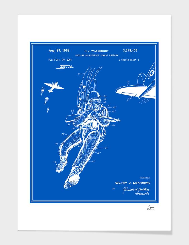 Combat Suit Patent - Blueprint