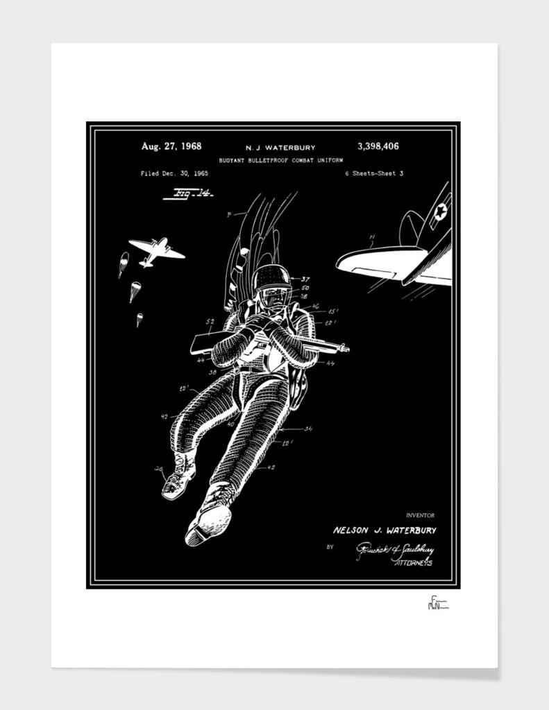 Combat Suit Patent - Black