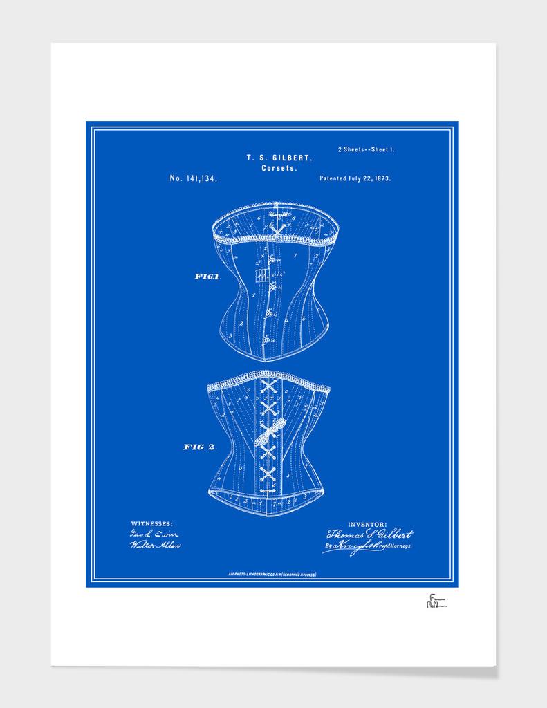 Corset Patent - Blueprint