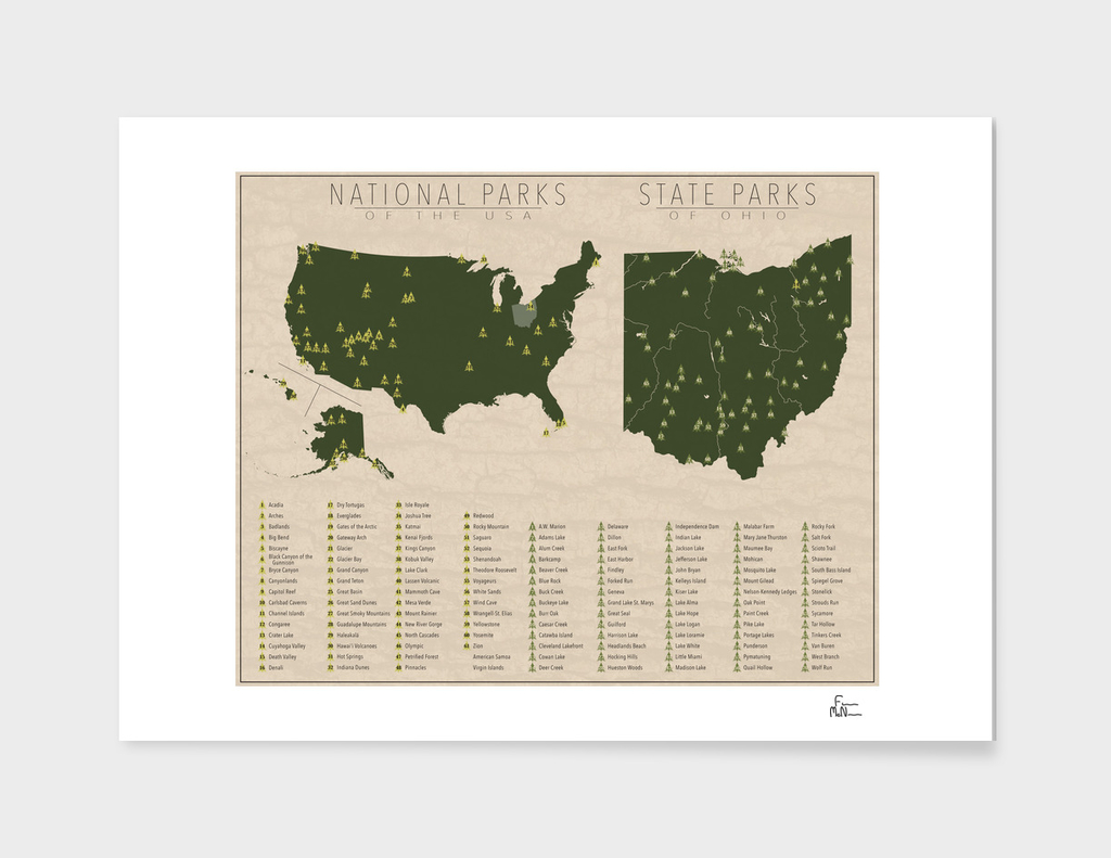 US National Parks - Ohio