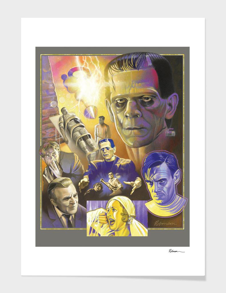 Frankenstein Tribute Poster
