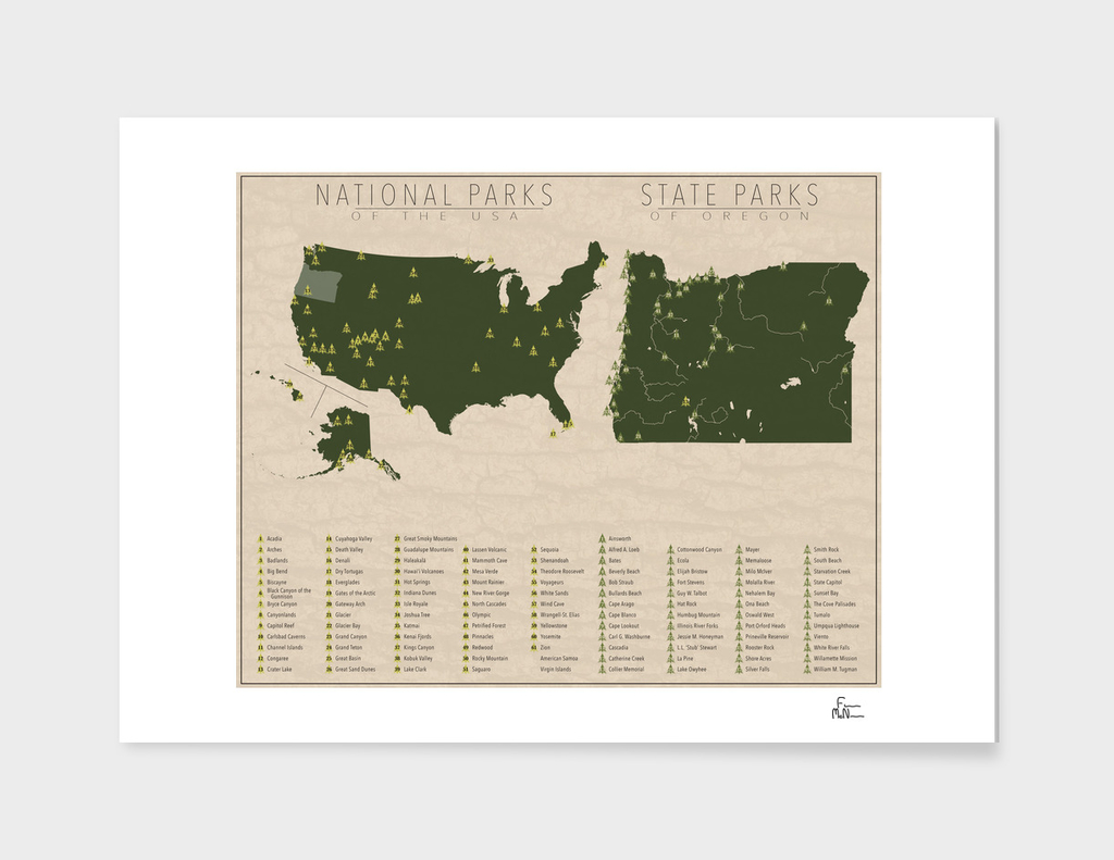 US National Parks - Oregon