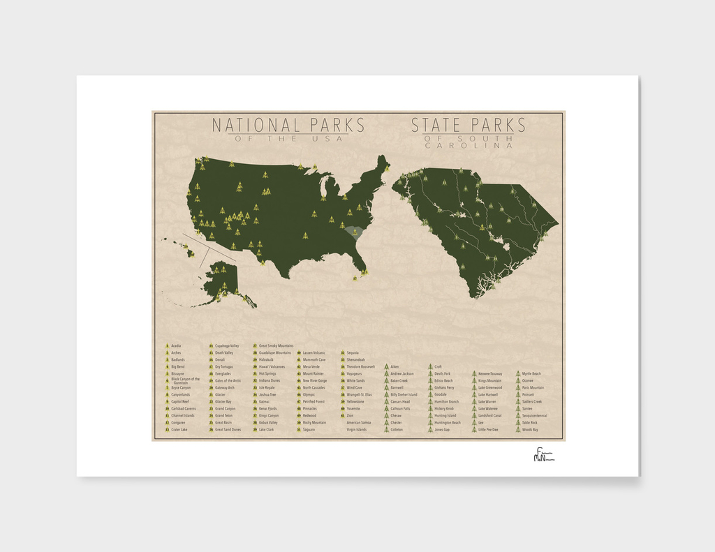 US National Parks - South Carolina