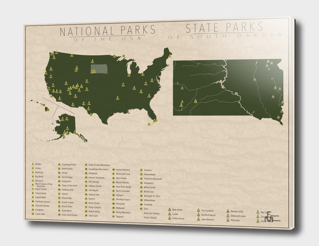 US National Parks - South Dakota