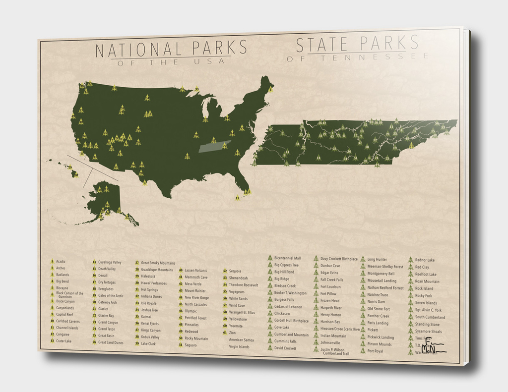 US National Parks - Tennessee