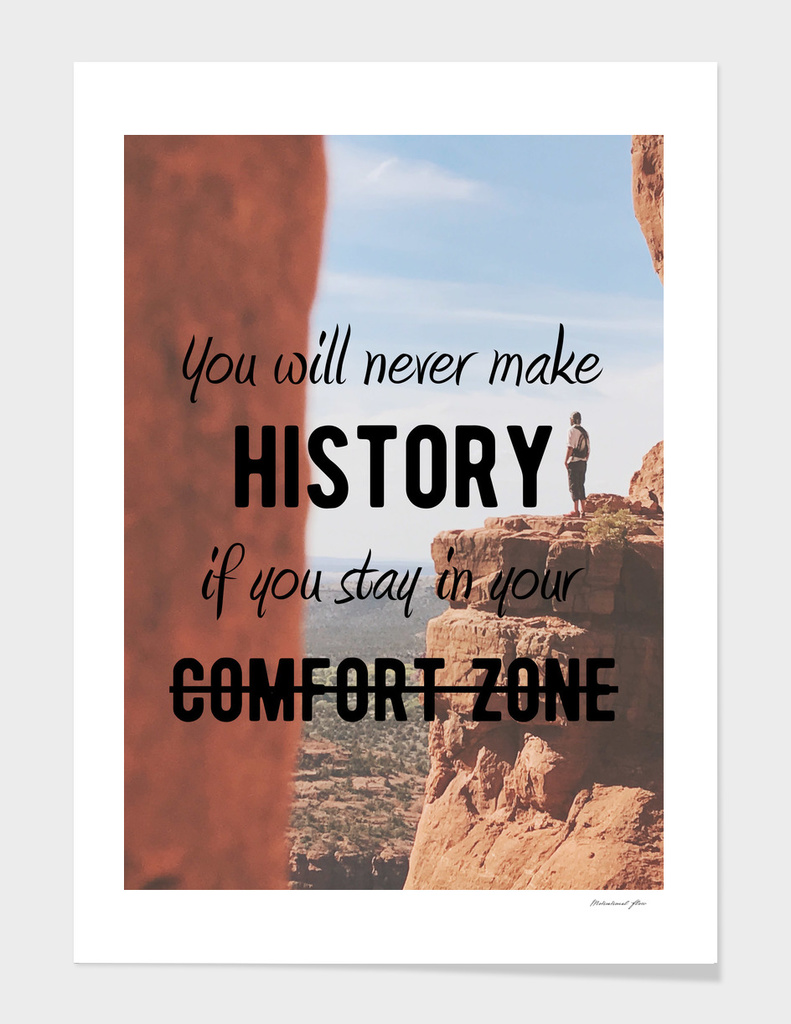 Motivational - Get Out Of Your Comfort Zone