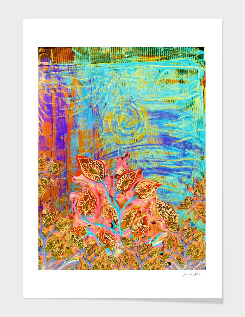 Perpetual Clan of Irises Golden