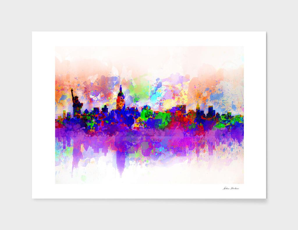 new york city skyline 3