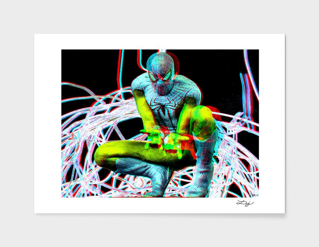 Spidey 3D Anaglyph