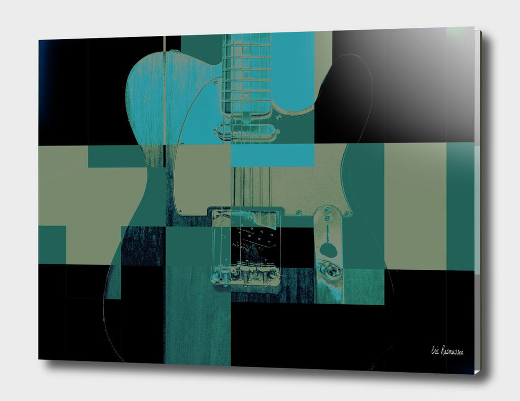 Guitar Abstract I