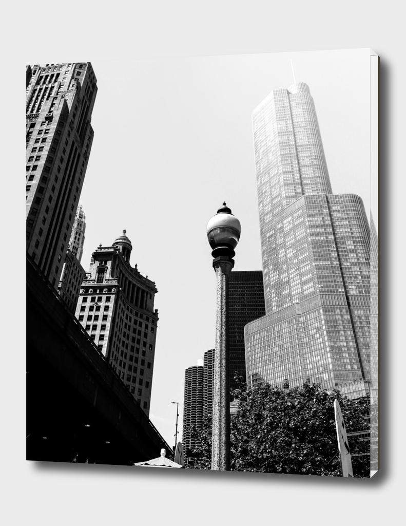 Chicago Lamp Post