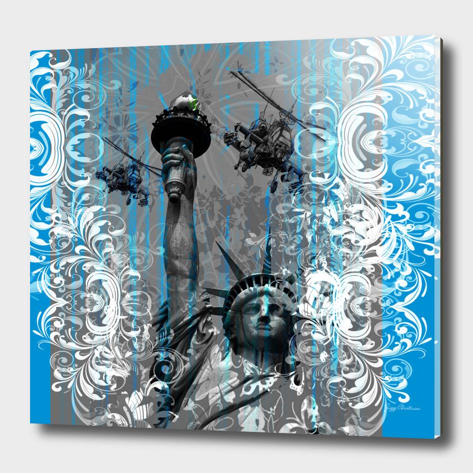 Peace Through Firepower (Special Edition Blue)