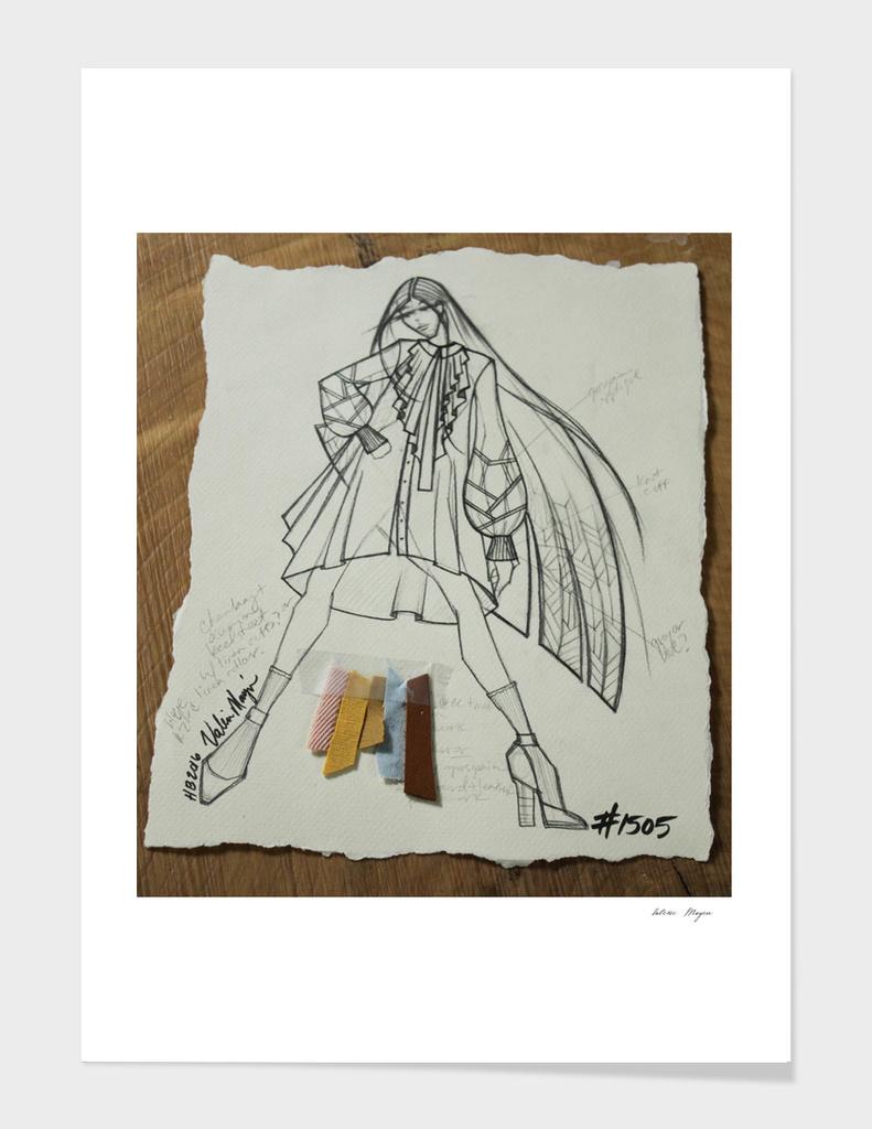 Fashion Sketch #1505