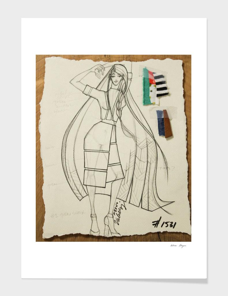 Fashion Sketch #1531