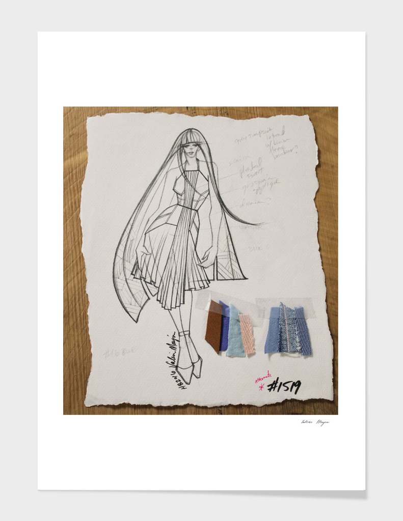 Fashion Sketch #1519
