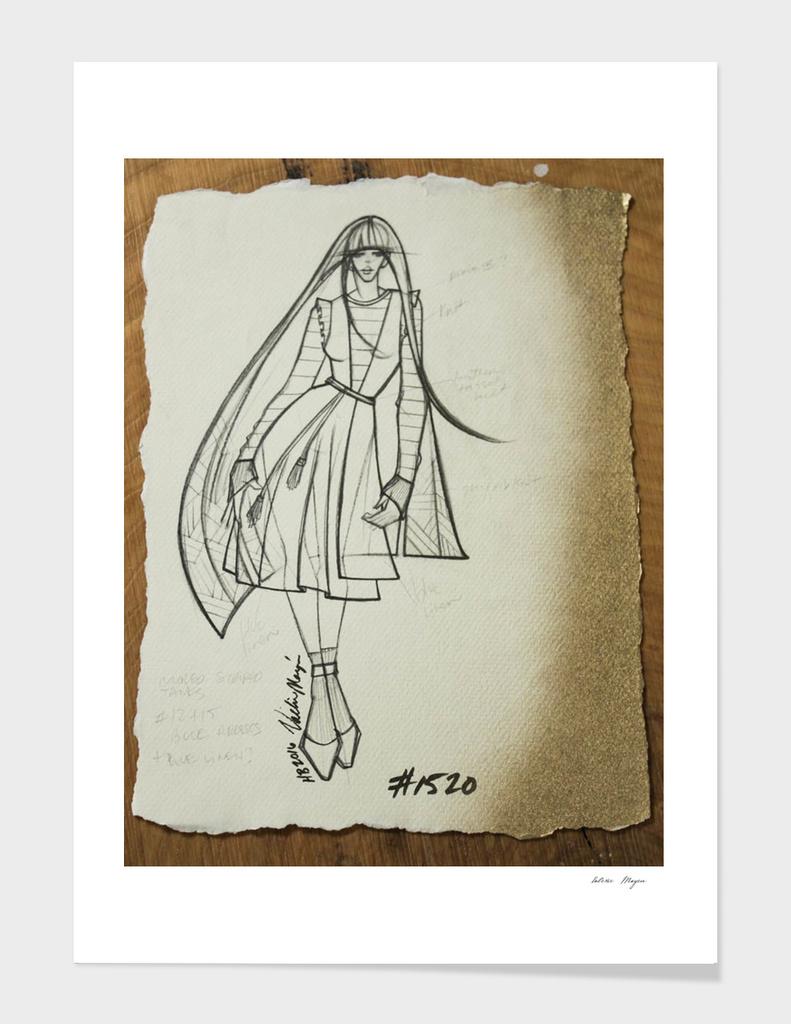 Fashion Sketch #1520