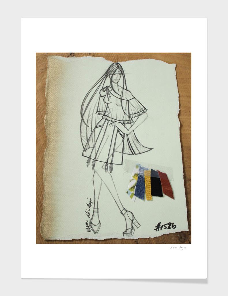 Fashion Sketch #1526