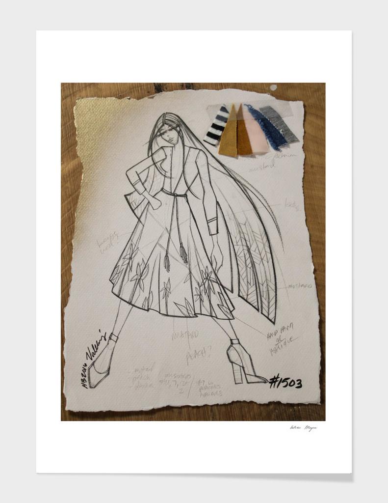 Fashion Sketch #1503