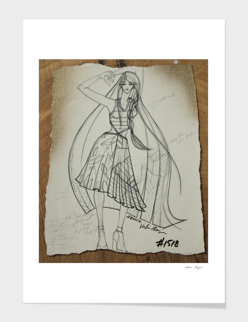 Fashion Sketch #1518