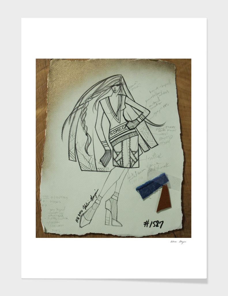 Fashion Sketch #1527