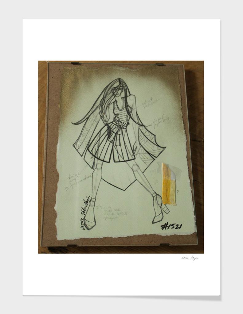 Fashion Sketch #1521