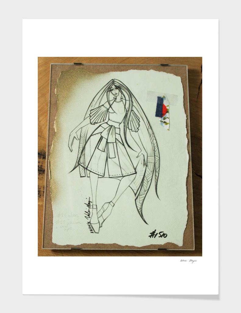 Fashion Sketch #1510
