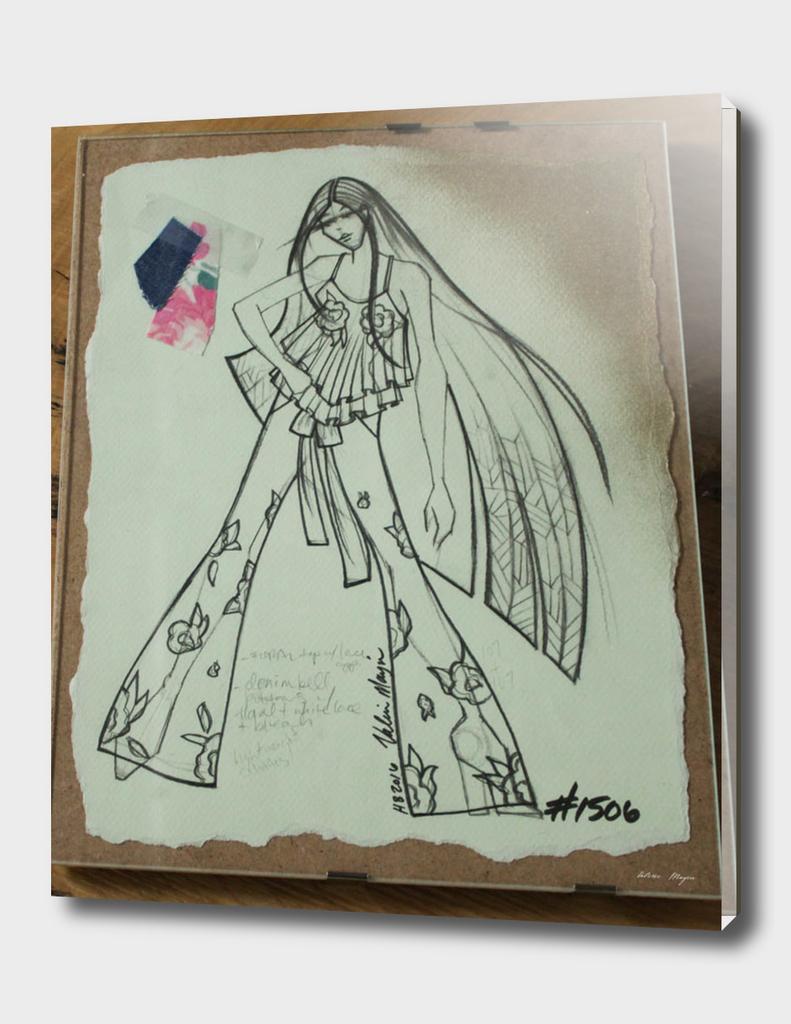 Fashion Sketch #1506