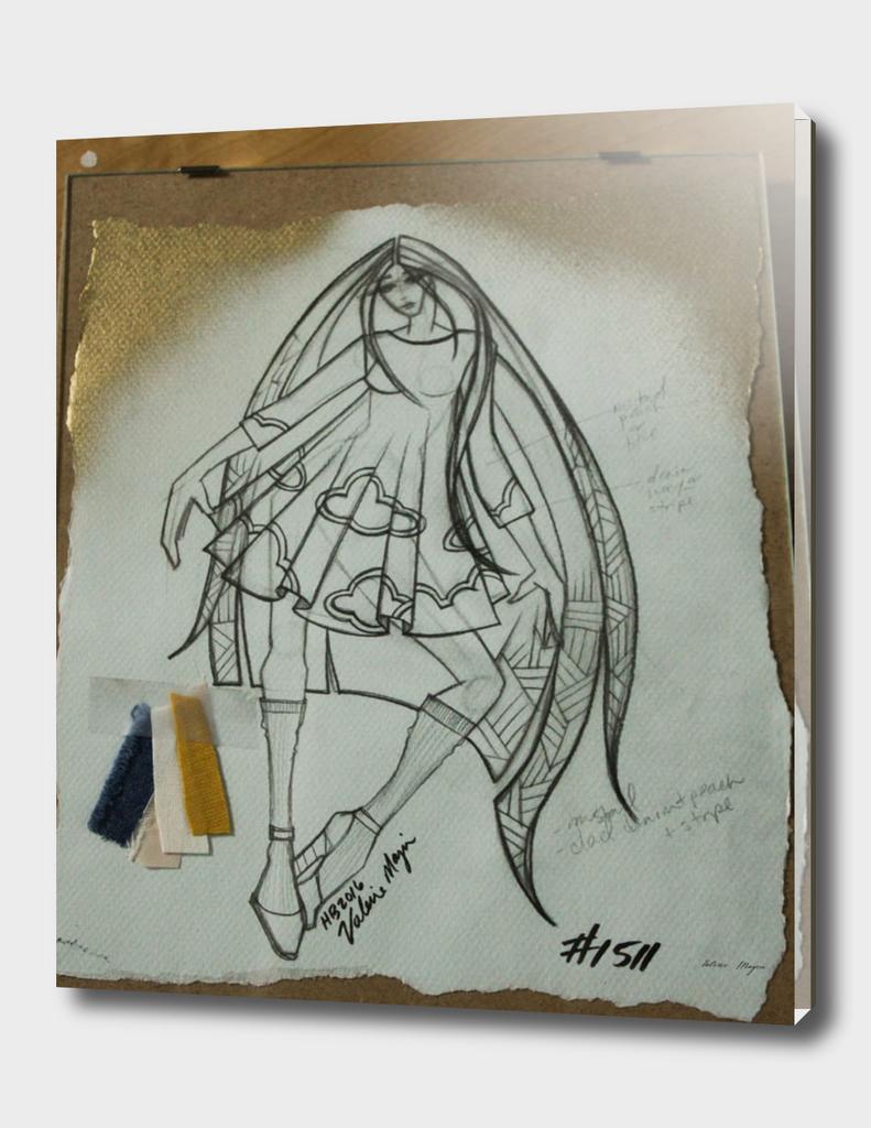 Fashion Sketch #1511