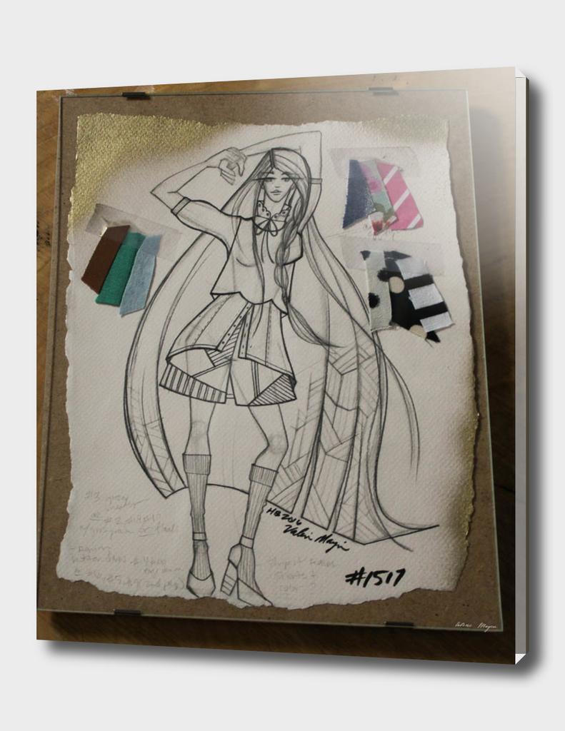 Fashion Sketch #1517