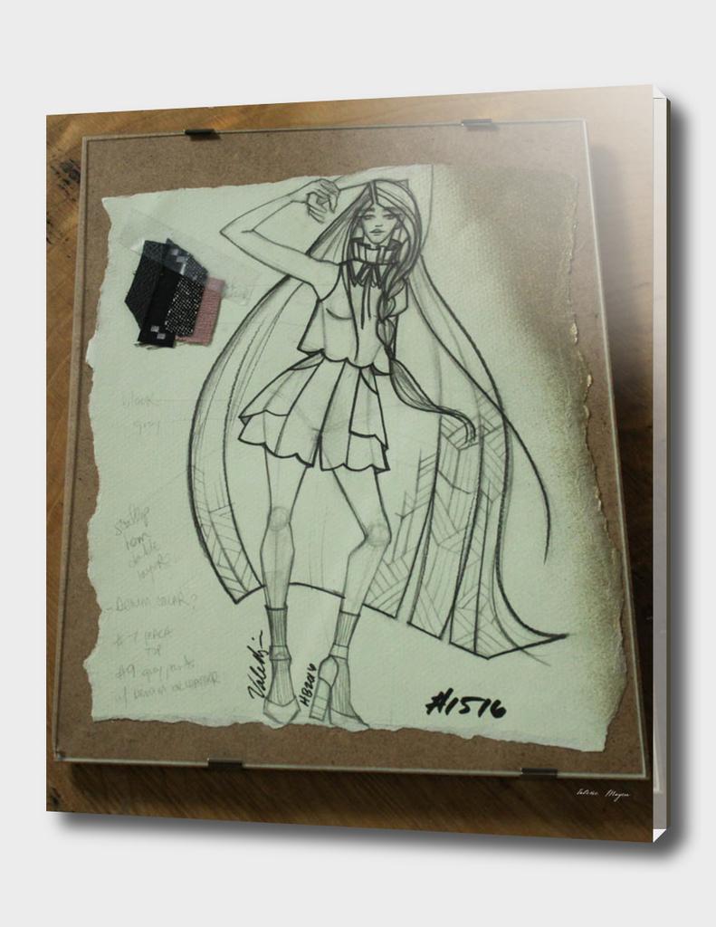 Fashion Sketch #1516