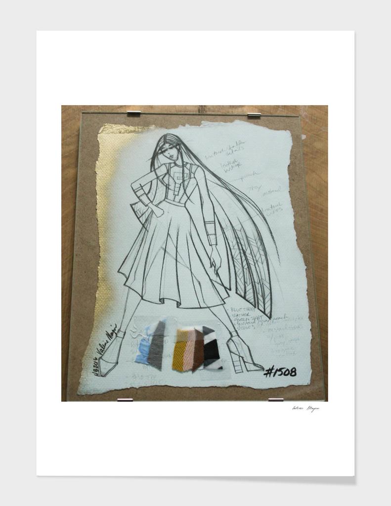 Fashio Sketch #1508