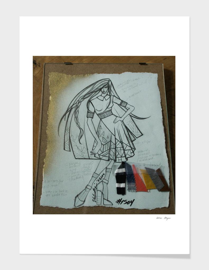 Fashion Sketch #1504