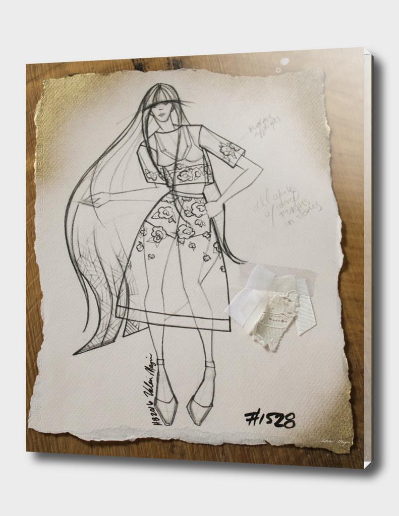 Fashion Sketch #1528