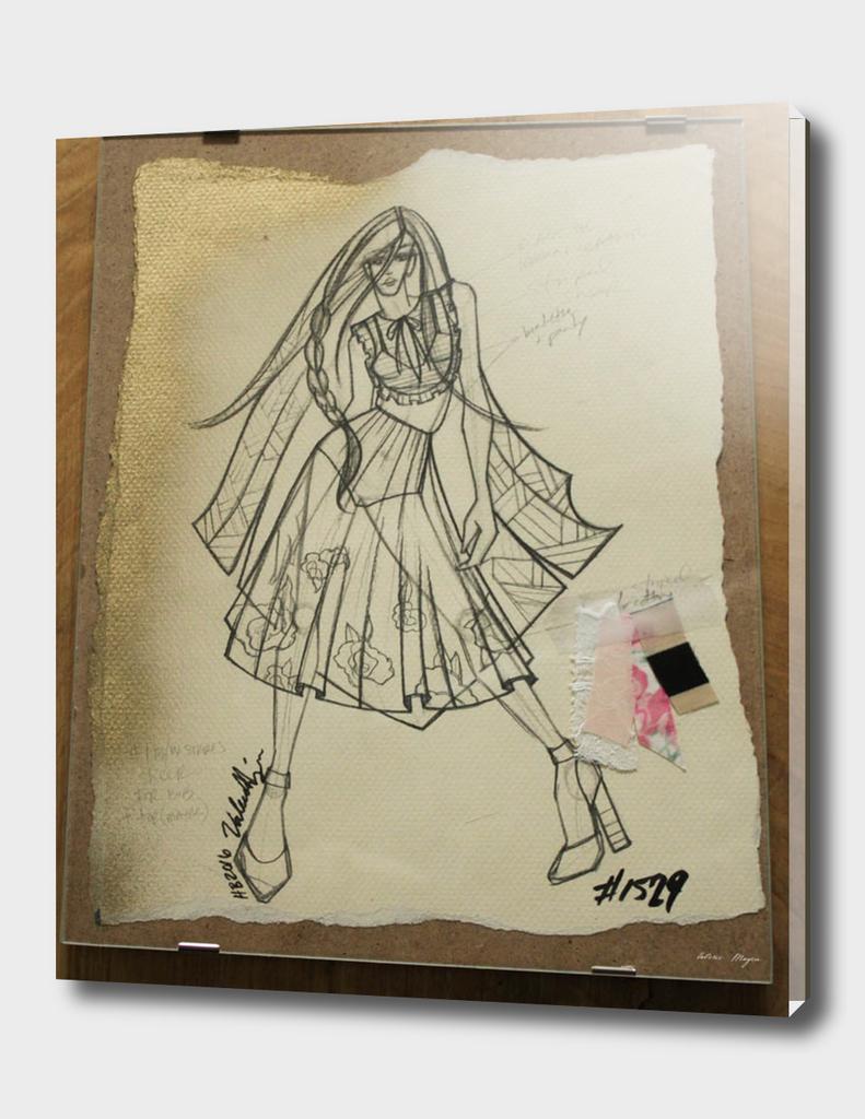 Fashion Sketch #1529
