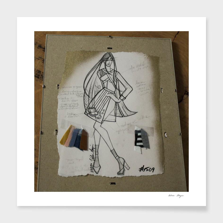 Fashion Sketch #1509