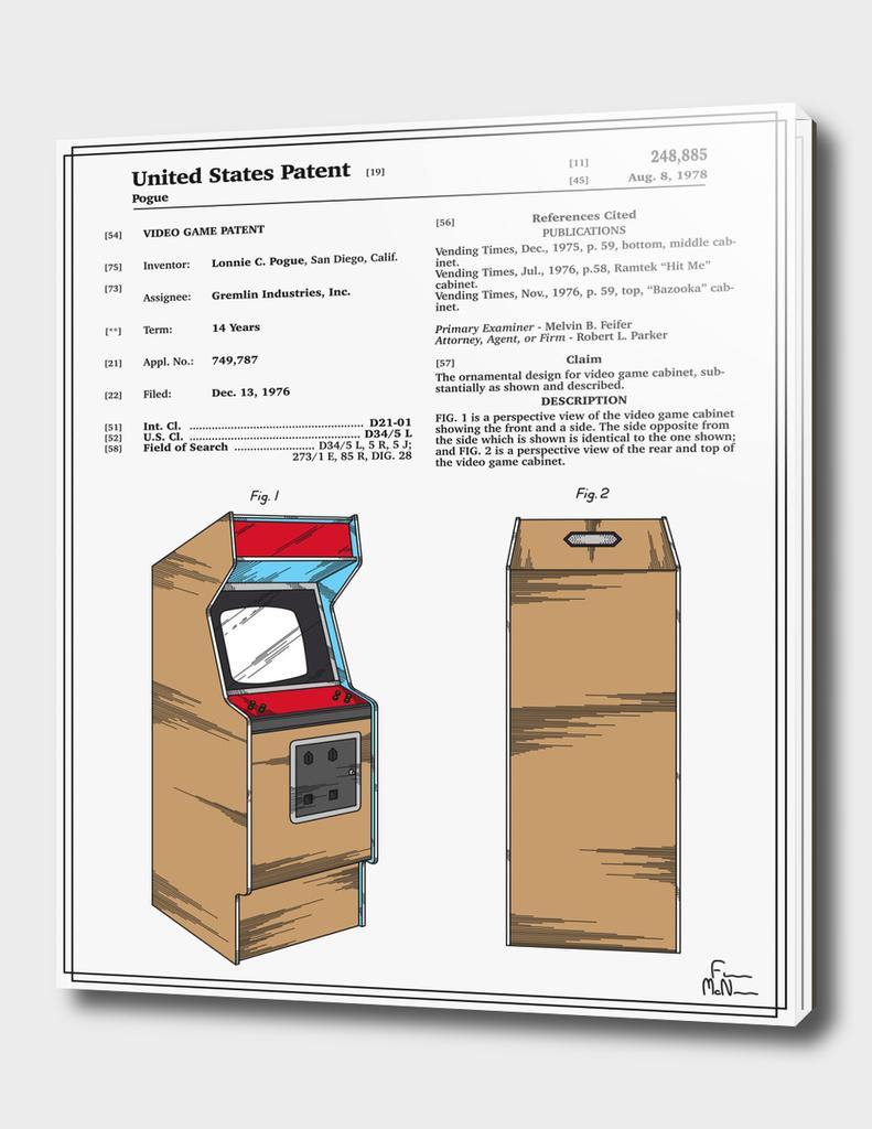 Arcade Game Patent