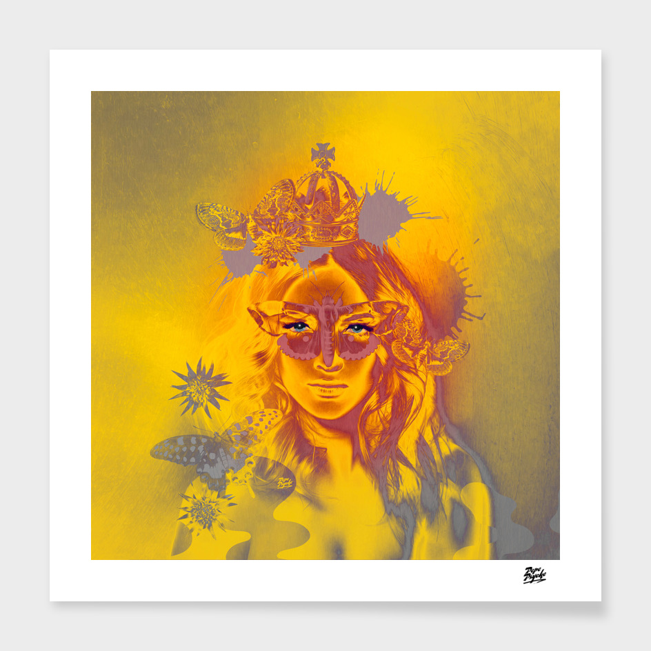 Queen Gold Mother Nature Pepe Psyche
