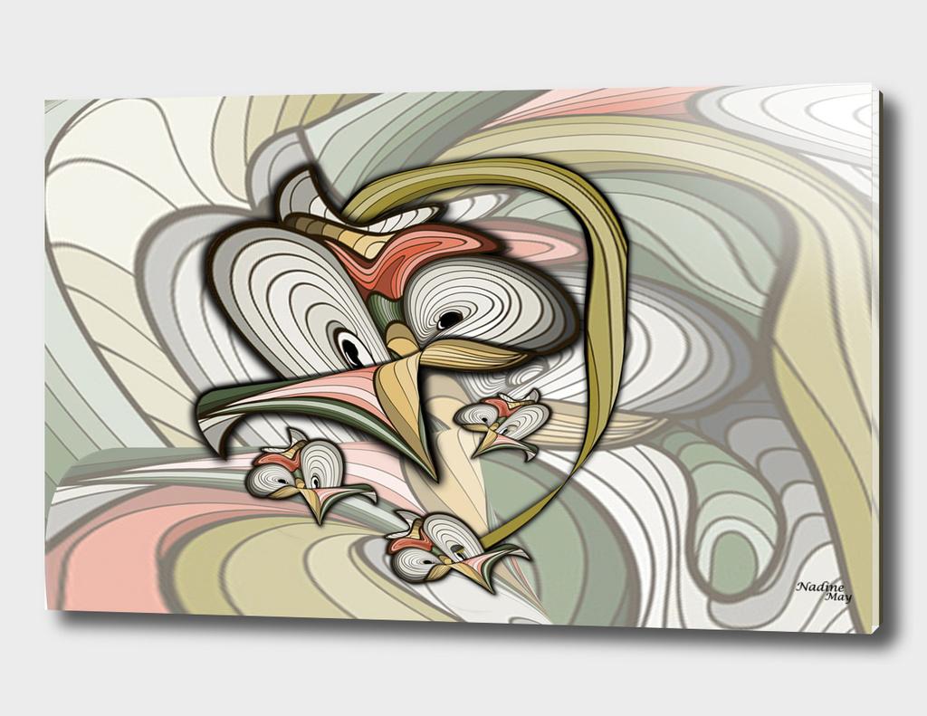 Organic Futuristic Abstract creation