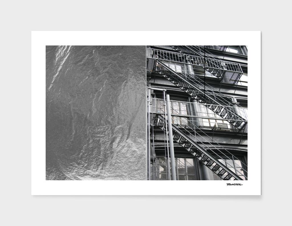 Americana - Fire Escape - Manhatten - NYC