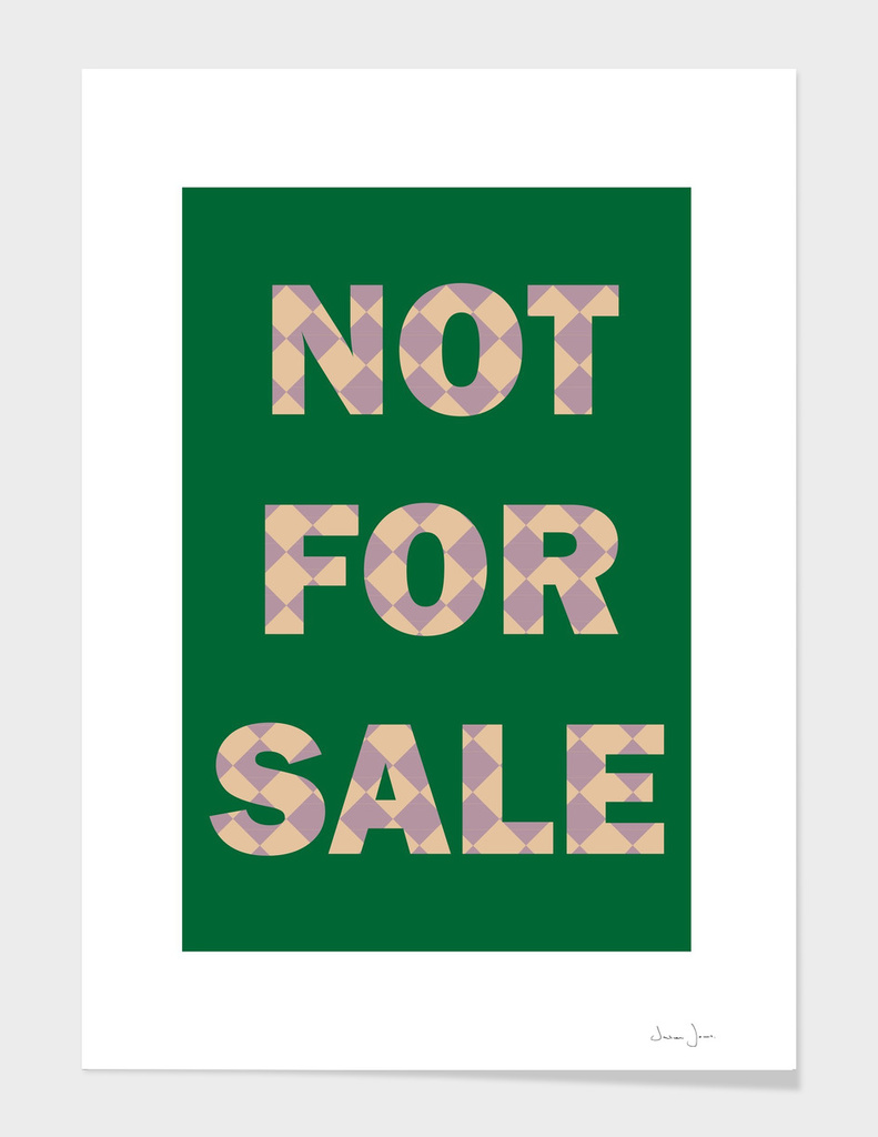 NOT FOR SALE 02