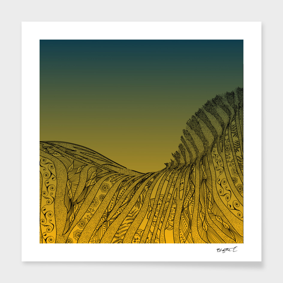 Zebra Sunset Design