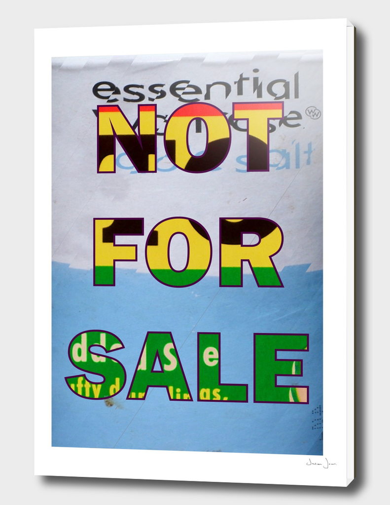 NOT FOR SALE 03