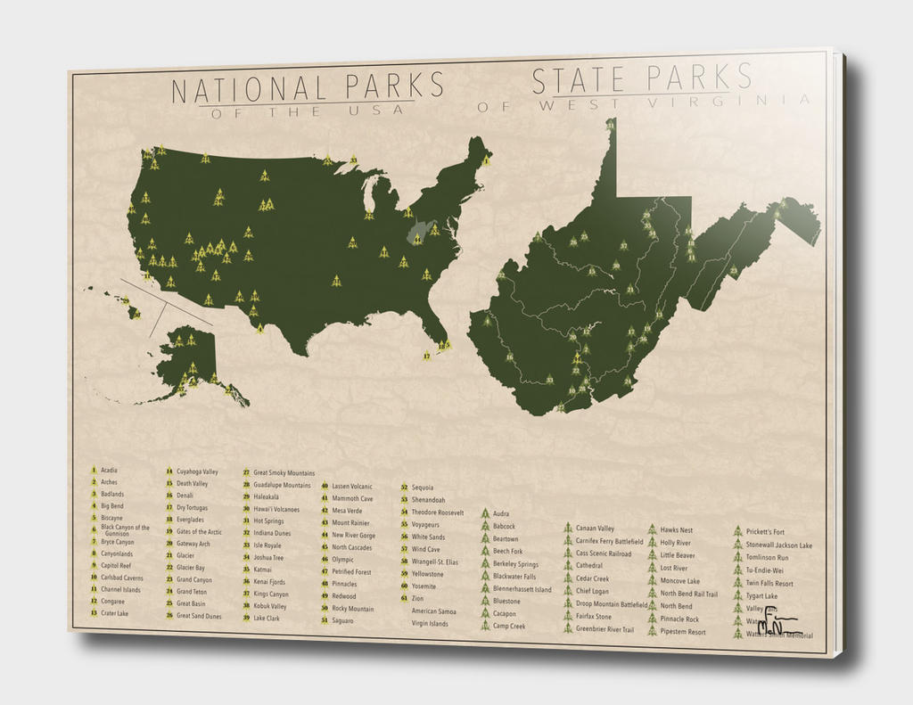 US National Parks - West Virginia