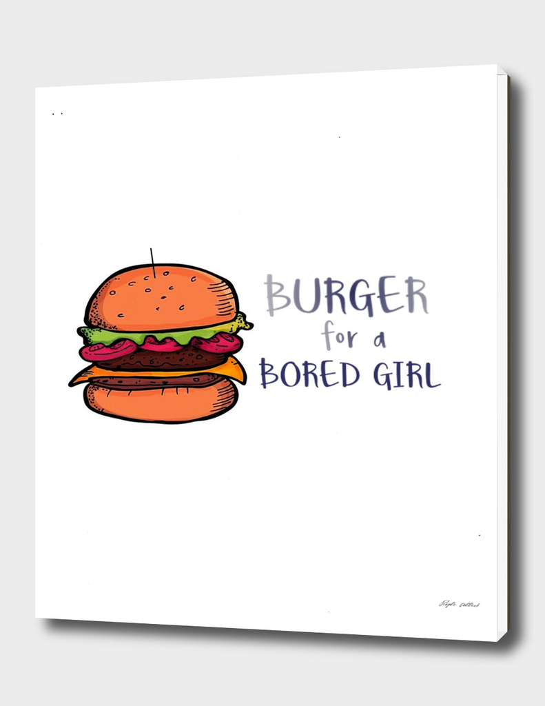 Burger for a BOred Girl