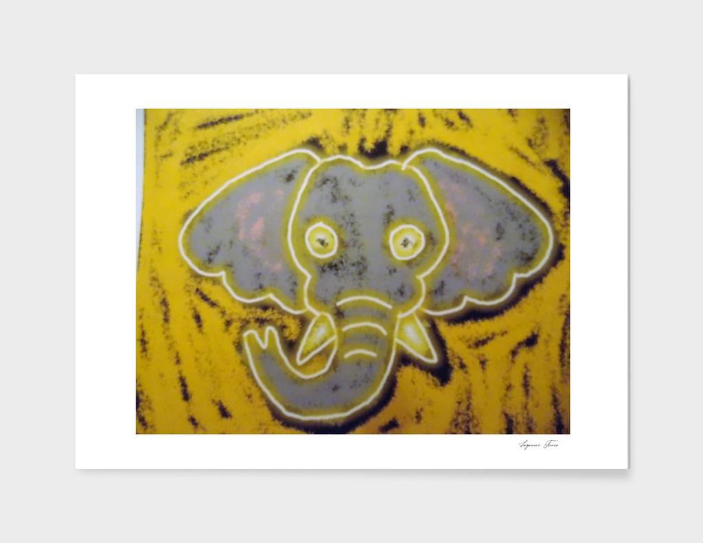 Neon Elephant
