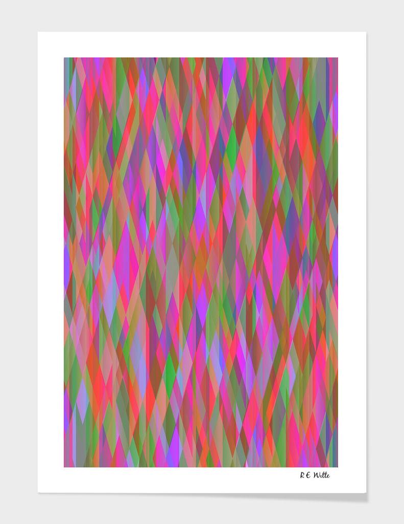 Kaleidoscope Diamond Curtain